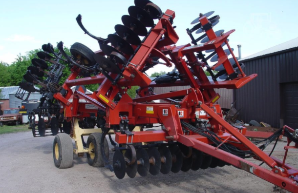 An example of farm equipment that you can ship with FR8Star