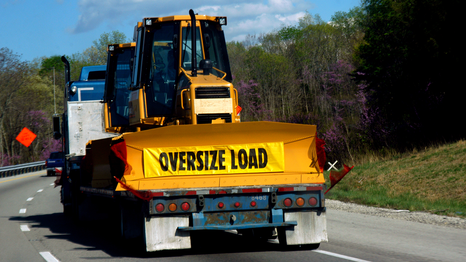 Hauling an oversize load
