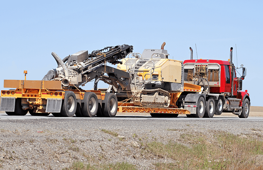 Lowboy Transport Transport large equipment with thousands of lowboy transport companies. Instantly calculate your rate and book shipping on lowboy trailers - FR8Star